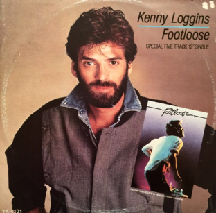 "Kenny Loggins - Footloose (12"") (VG/VG)"